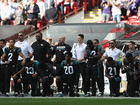 Jags owner stands with players protesting anthem