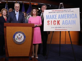 Obamacare repeal gives Dems 2018 rallying point