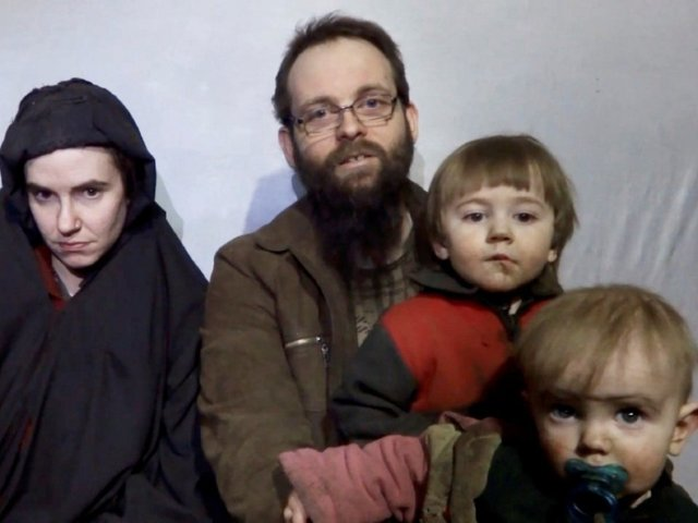 Taliban hostages released after almost  five years in captivity