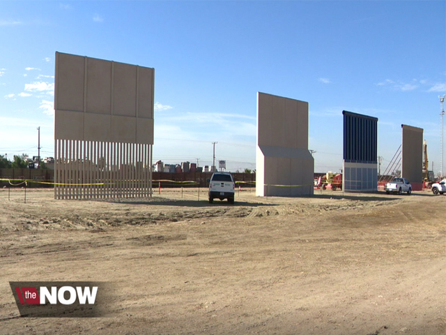 President Trump's border wall prototypes nearly complete ...
