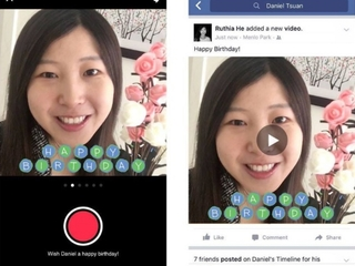 Facebook launches 'happy birthday' video posts