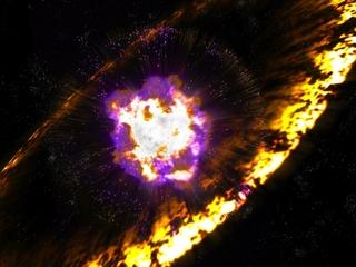 Earth had several close calls with supernovas