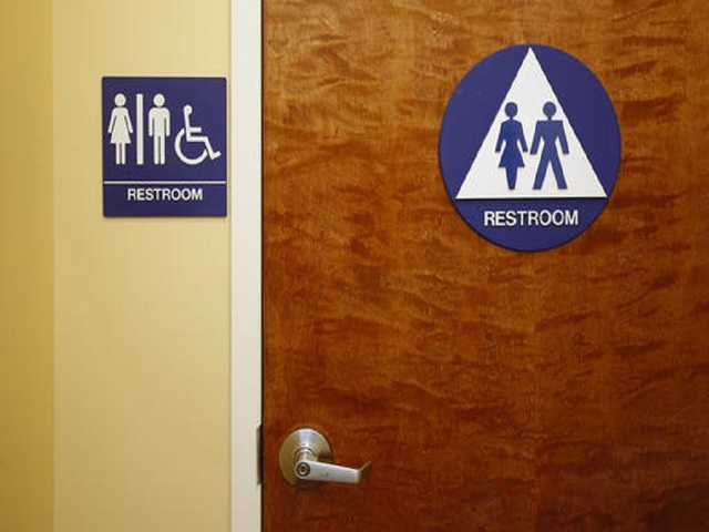 A Gender Neutral Restroom Is Seen At The Downtown U0026 Vine Restaurant And  Wine Bar, Monday, May 9, 2016, In Sacramento, Calif. A Measure, By  Assemblyman Phil ...