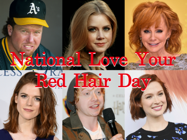 25 Celebrity Redheads For National Love Your Red Hair Day Nov 5