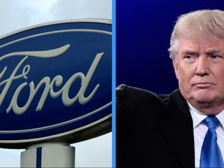 Trump tweets misleading words about Ford plant