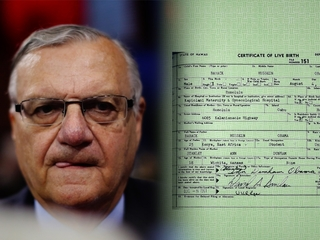 Arpaio says his evidence backs 'birther' claims