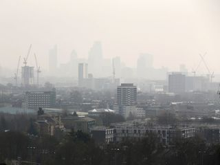 Part of London exceeds pollution limit for 2017
