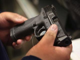 CA teacher, reserve cop fires gun in class