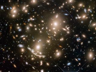 New Hubble image helps illuminate dark matter