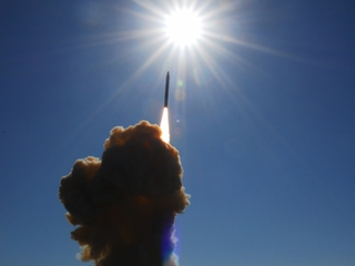 U.S. tests ICBM defense system over Pacific