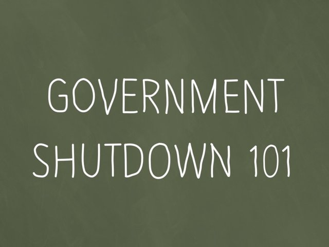 Government shutdown will end soon