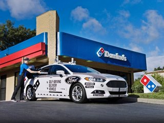 Domino's eyes autonomous cars for pizza delivery