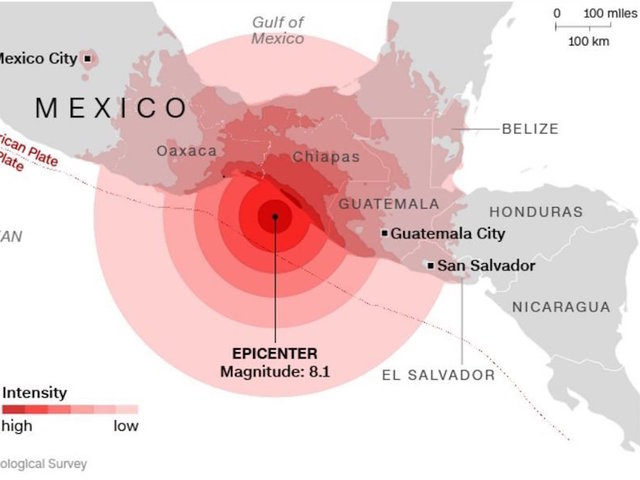 Mexicos Strongest Earthquake In A Century Leaves Dozens Dead - What is the latitude and longitude of mexico city