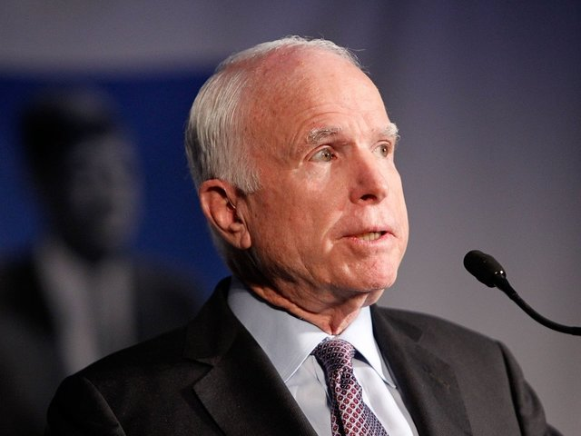 McCain Will Miss Tax Reform Vote After Rough Chemo Treatment