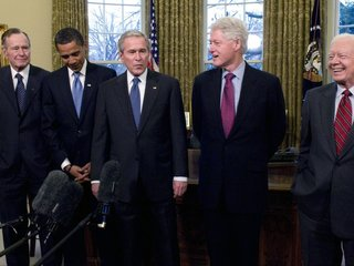Ex-presidents to attend hurricane relief benefit