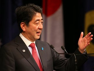 Shinzo Abe vows action against North Korea