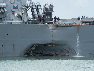 US Navy releases USS Fitzgerald, McCain report