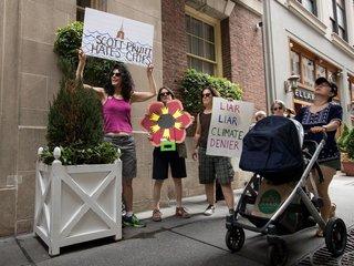 EPA head Scott Pruitt wages war from inside