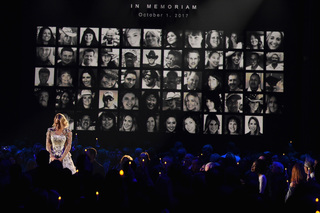 CMA Awards: Hosts honor victims of Vegas tradgey
