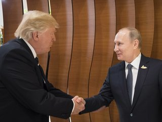 Trump: Putin says he didn't meddle in election
