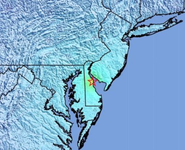 USGS: 5.1 Magnitude Earthquake Rattles Parts Of Delaware Valley