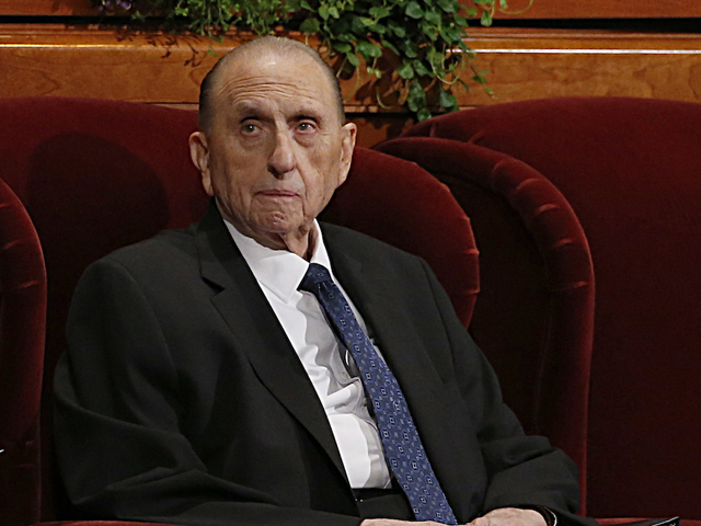 Image result for President Of The Mormon Church, Thomas Monson, Dies At Age 90