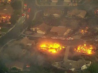 California fires leave potential for mudslides