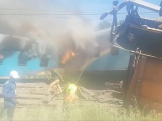 Several dead in South Africa train crash