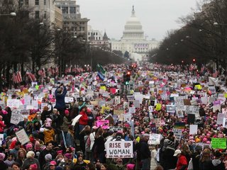 Women's marches in US have long history
