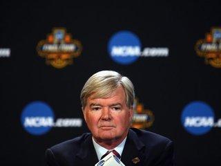 NCAA head caught in Michigan State controversy