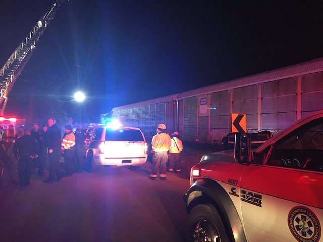 At least 2 killed in SC train wreck