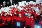 PHOTOS: Winter Olympics opening ceremony begins