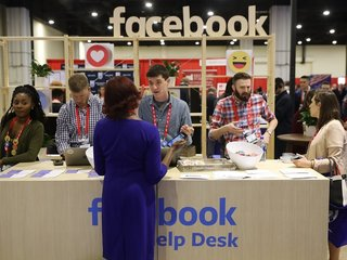 Facebook removes shooting game from CPAC stand