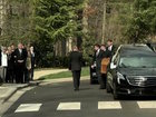 Crowds watch Billy Graham's funeral motorcade