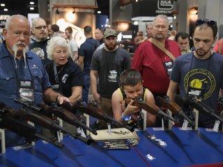 Gun injuries fall during NRA national convention