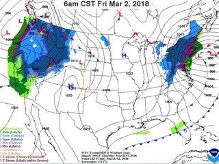 Dual storms pose dangerous threat, hamper travel