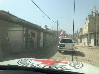 A Rare Aid Convoy Has Finally Entered Syria's...