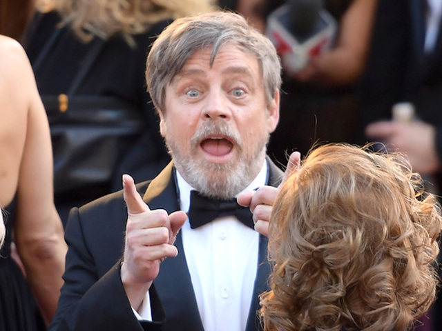 Mark Hamill Gets His Star On The Hollywood Walk Of Fame