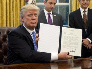 Trump reconsidering Trans-Pacific Partnership