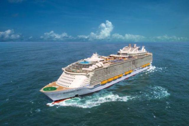 Symphony Of The Seas World S Largest Cruise Ship Sets