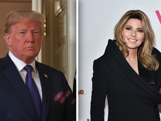 Shania Twain apologizes for Trump comment
