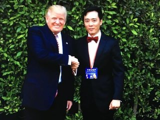 This Chinese immigrant founded a pro-Trump group