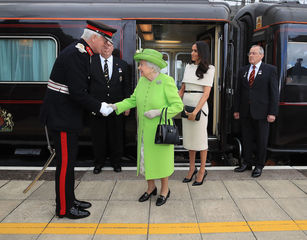 Meghan Markle's day on the Royal Train
