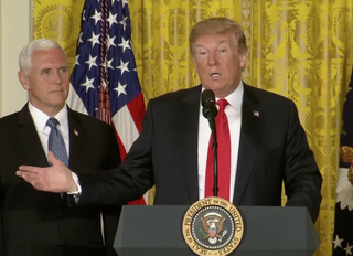 Trump: Space Force, Air Force will be separate
