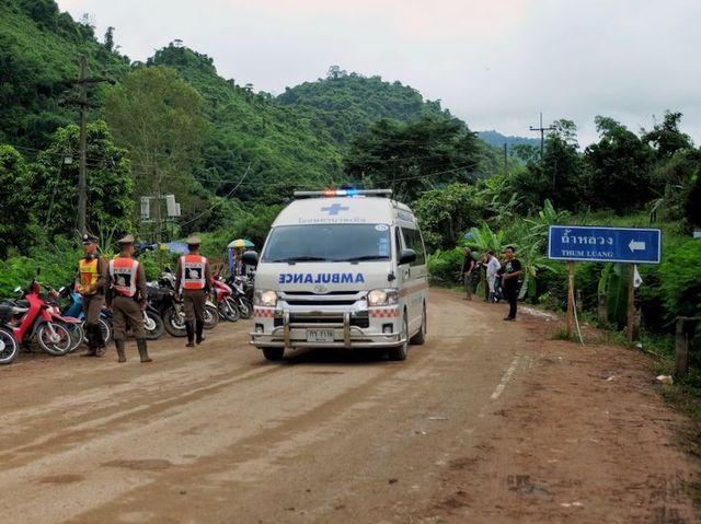 thai cave rescue operation - photo #13