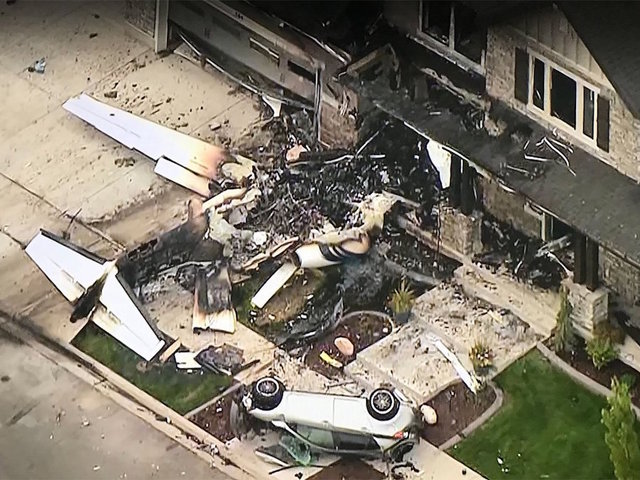 Image result for utah man crashes plane into his house