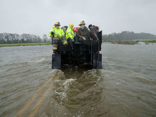 Photos: Flood waters rise in North Carolina