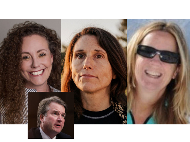 Image result for three kavanaugh accusers