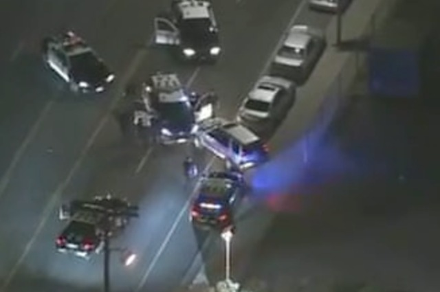 l a police chase ends with carjacking caught on tape abc15 arizona